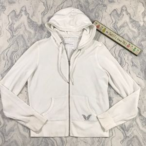 VS SuperModel Essentials White Sweatshirt